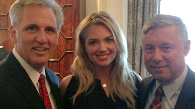 Kate Upton Rings in 21st Birthday With Congressmen (ABC News)
