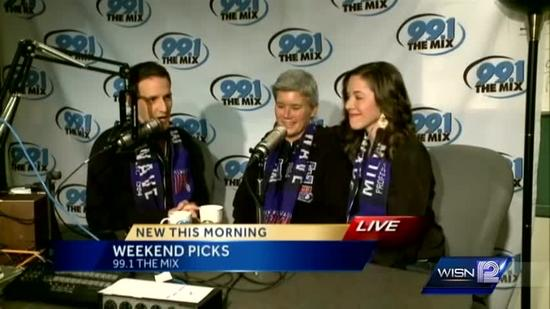 Kidd and Elizabeth's weekend pick: Milwaukee Wave