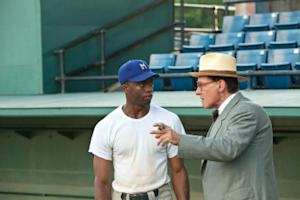'42' Review: Despite a Few Errors, Baseball Biopic Presents a Jackie Robinson Who's Both Heroic and Human
