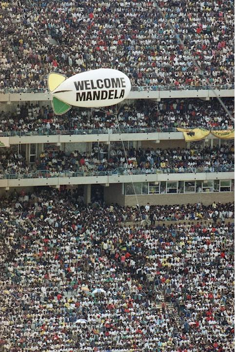 Nelson Mandela Welcome