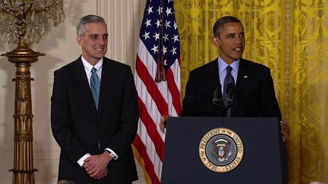 Obama names McDonough as chief of staff