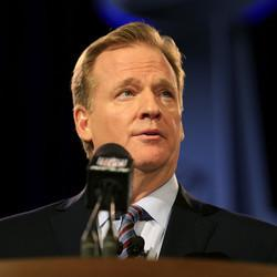 Goodell Says He Isn't Going Anywhere After NFL's 'Tough Year'