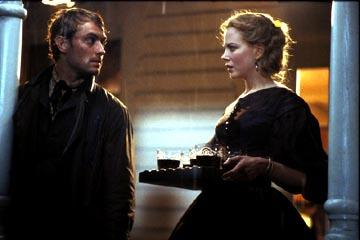 Jude Law and Nicole Kidman in Miramax's Cold Mountain