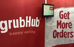 GrubHub Stock Surges in Public Debut After Raising $192 Million