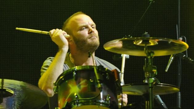 Will Champion of Coldplay performs at Piedmont Park in Atlanta, Georgia on September 24, 2011  -- Getty Premium