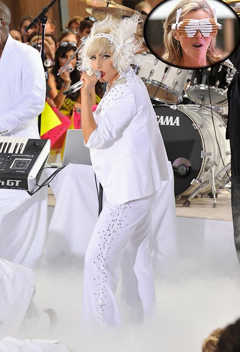 Lady Gaga Viera Today Show