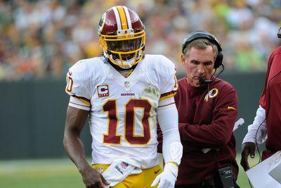 Mike Shanahan thinks he knows why RG3 has struggled