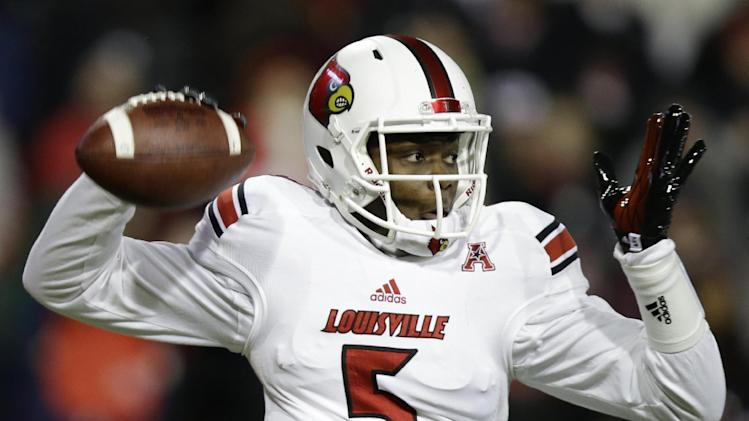 No. 19 Louisville beat Cincinnati 31-24 in OT