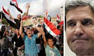 Syria: John Kerry Claims Boost In Us Support