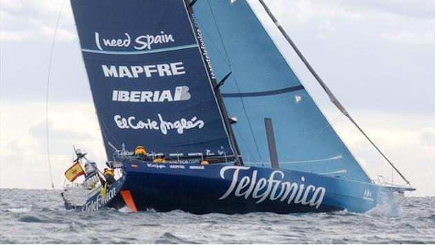 Telefonica surrender Volvo lead