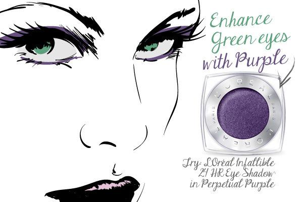 Green Eyes: Purple Reigns