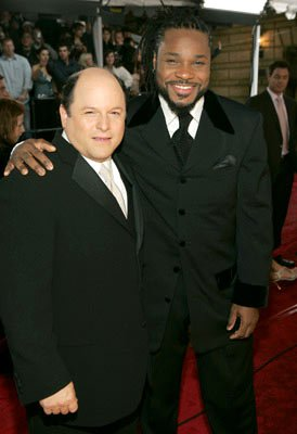 Co-hosts Jason Alexander and Malcolm-Jamal Warner
