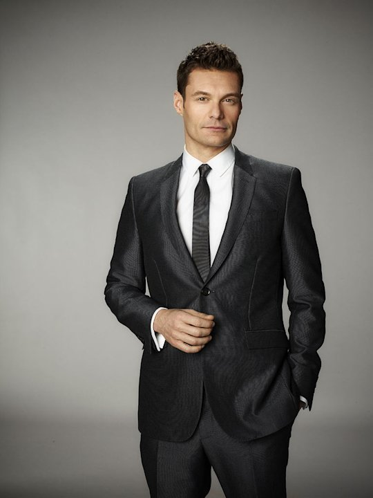 "Host, Ryan Seacrest on Season 11 of ""American Idol."""