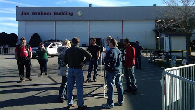 Accidental shooting at Raleigh gun show