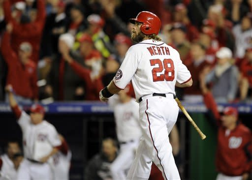 Werth's homer for Nats forces Game 5 against Cards