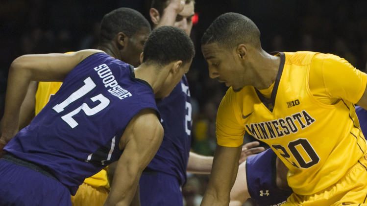 NCAA Basketball: Northwestern at Minnesota