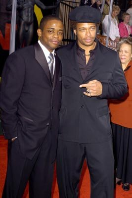 Dule Hill and Gary Dourdan Screen Actors Guild Awards 2/22/2004