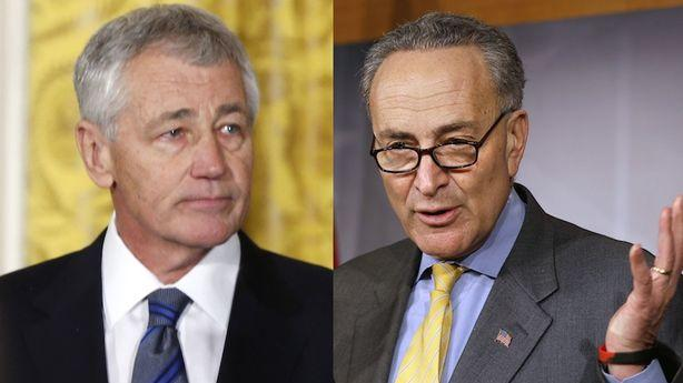 Will Chuck Schumer Sink Chuck Hagel?