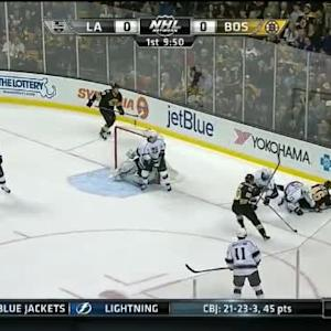 Jonathan Quick Save on Daniel Paille (09:54/1st)