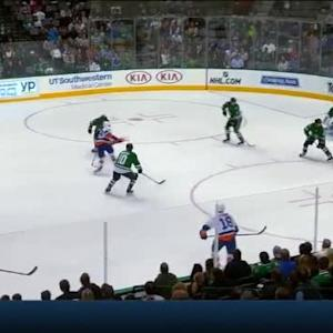 Kari Lehtonen Save on Brock Nelson (09:33/3rd)