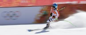 Swiss skier Suter leads women's downhill training