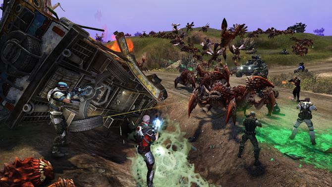 """This video game image released by Trion Worlds shows a scene from """"Defiance."""" (AP Photo/Trion Worlds)"""