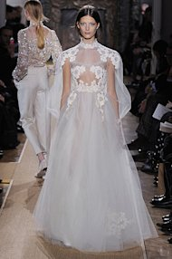 Elie Saab Lace and Valentino White? Looks Like Jessica Biel Can't Wait For Her Wedding Day!