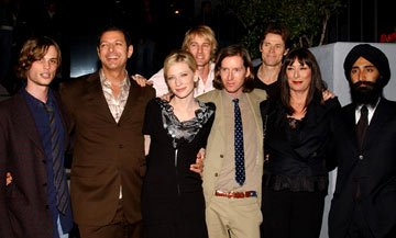 Premiere: Matthew Gray Gubler, Jeff Goldblum, Cate Blanchett, Owen Wilson, director Wes Anderson, Willem Dafoe, Angelica Huston and Warus Ahluwala at the Los Angeles screening of Touchstone Pictures' 