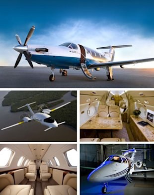 Photographs Clockwise From Top: Surf Air; JumpSeat; Linear Air; JetSuite; Arrows