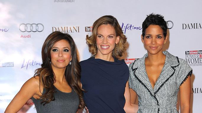 Hollywood Reporter's Annual Women in Entertainment Breakfast 2009 Eva Longoria Parker Hilary Swank Halle Berry