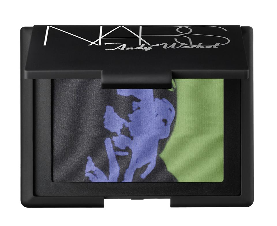 This undated product photo released by Nars Cosmetics shows eye shadow from the Andy Warhol collection. Francois Nars' company has taken on Andy Warhol's silvery Factory, silkscreened superstars and avant-garde films in a limited-edition cosmetic collection, exclusive to Sephora stores until Nov. 1. (AP Photo/Nars Cosmetics)