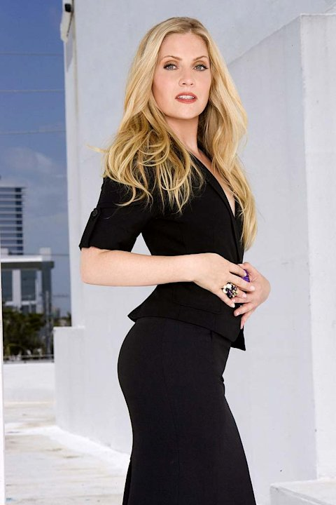 Emily Procter stars as Calleigh Dusquene in CSI: Miami.