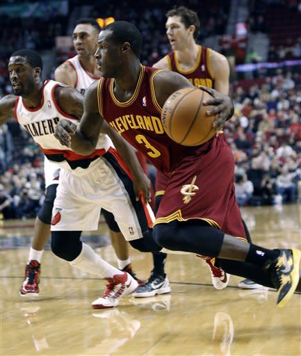 Irving scores 31 to lead Cavs over Trail Blazers
