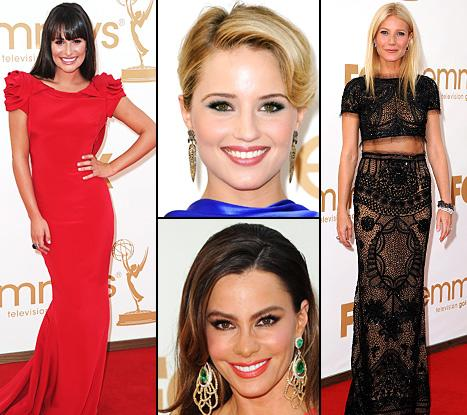 Emmys 2011: Top Style & Beauty Trends