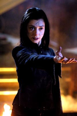 Alyson Hannigan as a vengeful Willow on Buffy The Vampire Slayer