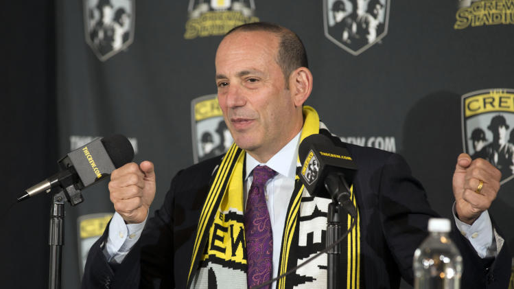 MLS: Columbus Crew-Press Conference