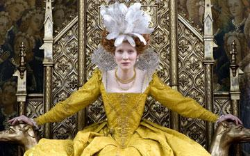Cate Blanchett as Queen Elizabeth I in Universal Pictures' Elizabeth: The Golden Age