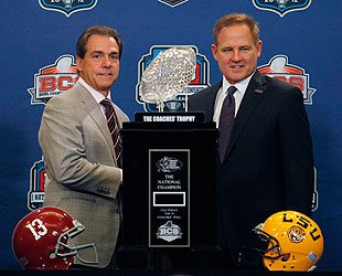 Nick Saban, Les Miles