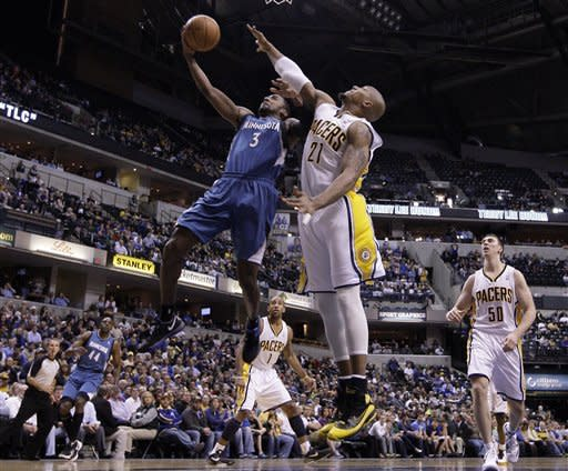 West leads Pacers past Timberwolves