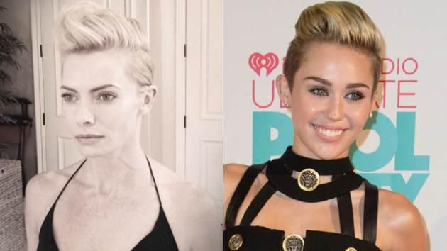 Jaime Pressly, Miley Cyrus  -- Getty ImagesJaime Pressly/Twitter