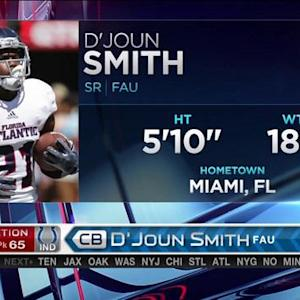 Indianapolis Colts pick cornerback D'Joun Smith No. 65 in 2015 NFL Draft