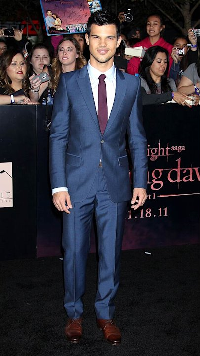 Taylor Lautner Tilight Breaking Dawn Premiere