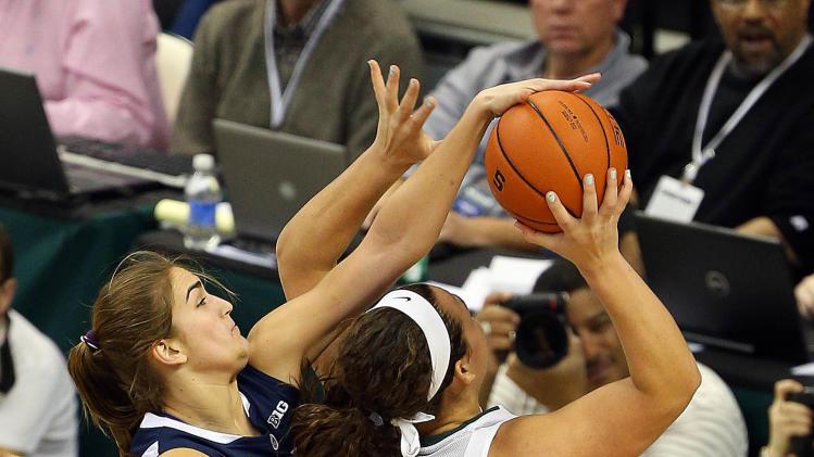 NCAA Womens Basketball: Penn State at Michigan State