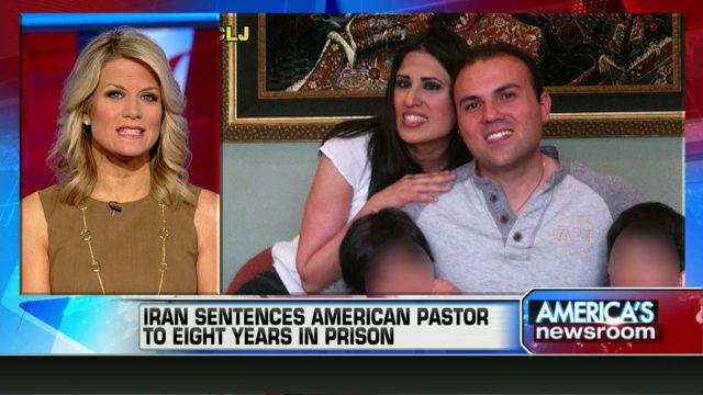 Wife of jailed American pastor: 8 years is 'death sentence'