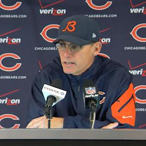 Chicago Bears coach Marc Trestman: 'That's a very sick locker room right now'