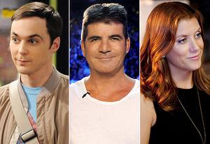 Jim Parsons, Simon Cowell, Kate Walsh | Photo Credits: Michael Yarish/CBS, Ray Mickshaw/Fox, Colleen Hayes/ABC