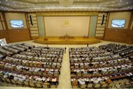 Myanmar's parliament on Thursday ousted nine constitutional court judges in the culmination of a long-running standoff that observers say exposed growing political rivalry within the regime
