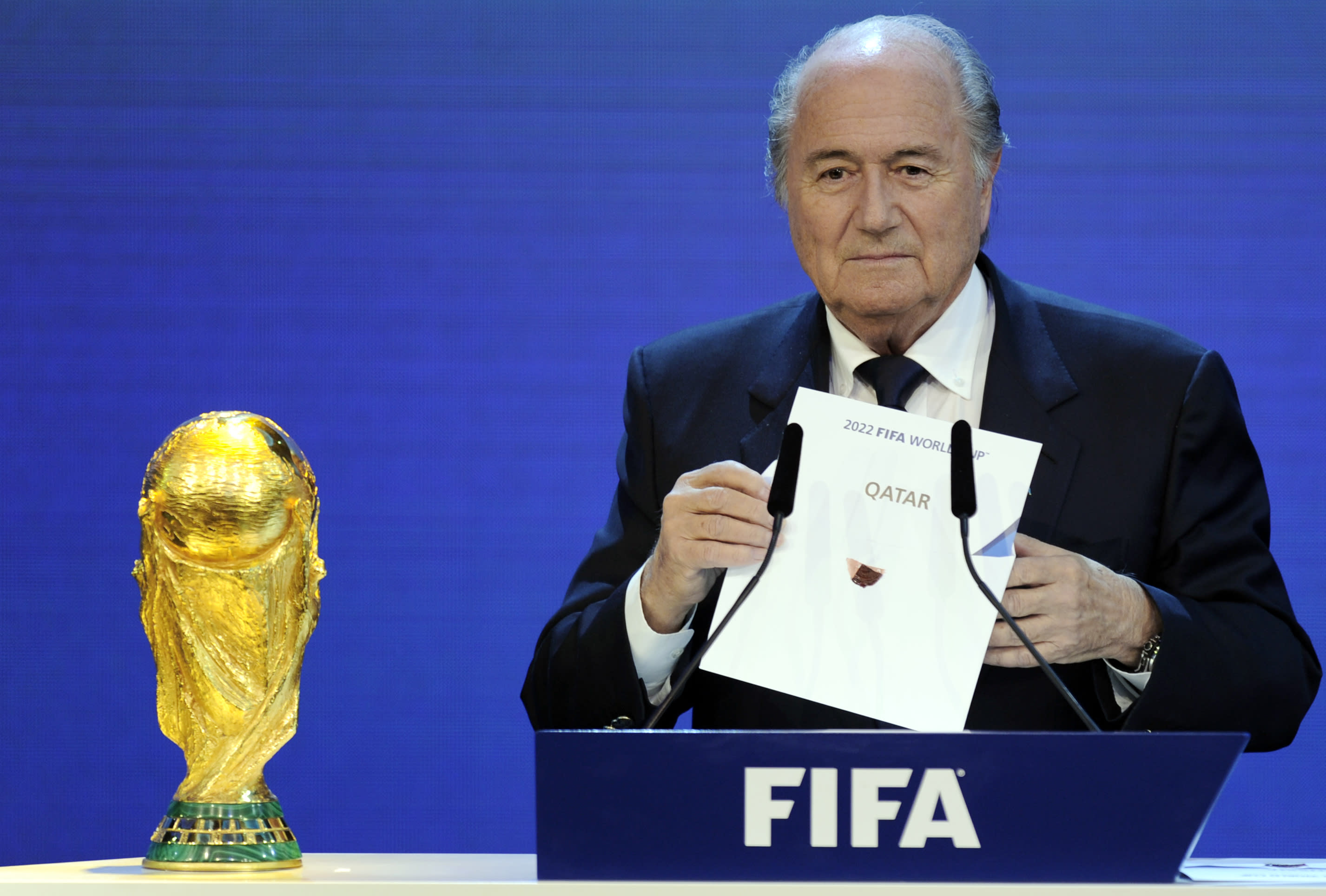 Council of Europe calls for revote on 'flawed' 2022 World Cup bid