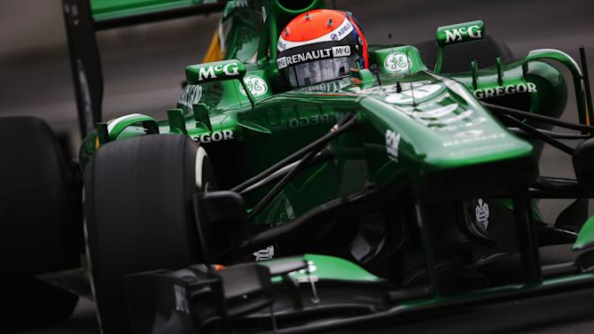Motorsport - Chilton dropped by Marussia for Spa race