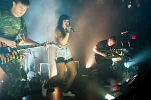 Sleigh Bells Bring the Noise to 'Bitter Rivals' Release Show